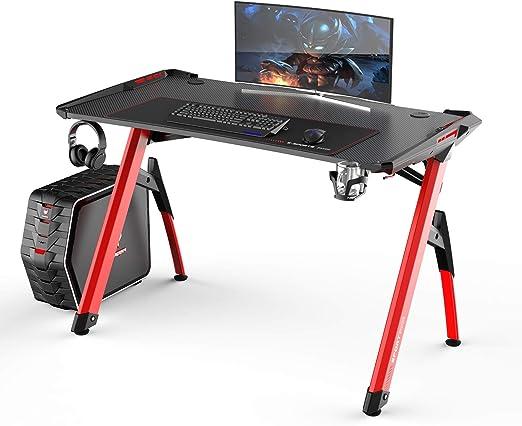DlandHome Mesa para Juegos Escritorio para computadora de Juegos ...