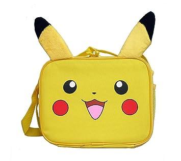 Amazon.com   Pokemon Pikachu Lunch Bag with 3D Plush Ear   Baby 7515d386f88e7