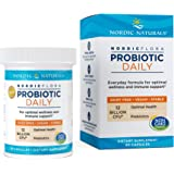 Nordic Naturals Nordic Flora Probiotic Daily - 60 Capsules - 4 Probiotic Strains with 12 Billion Cultures - Optimal Wellness,