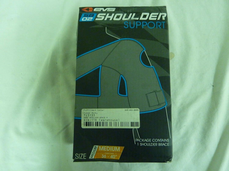 EVS SB02 Sports Shoulder Support Brace Medium ATV MX 663-SB02 SB02BK-M 72-3133