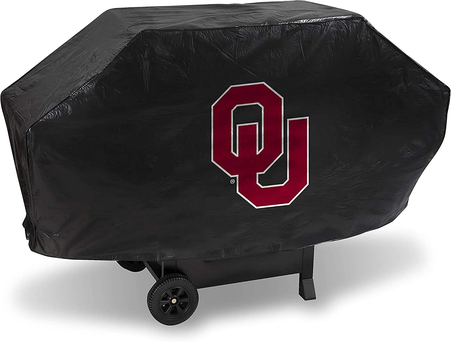 Rico Industries NCAA Unisex-Adult Vinyl Padded Deluxe Grill Cover