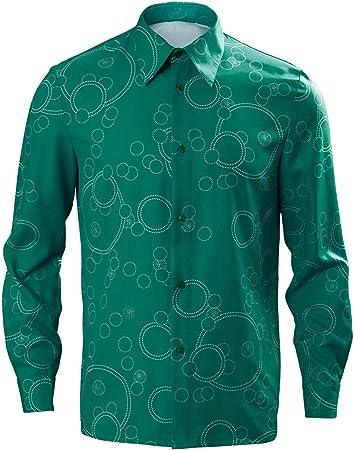 RedJade 2019 Joker Arthur Fleck Camisa Traje de Cosplay Disfraz Hombres M: Amazon.es: Juguetes y juegos