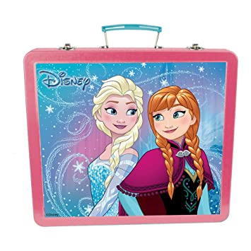 Disney Frozen DARP-CFRO132 Art - Estuche de Lata con Accesorios creativos (60 Piezas)