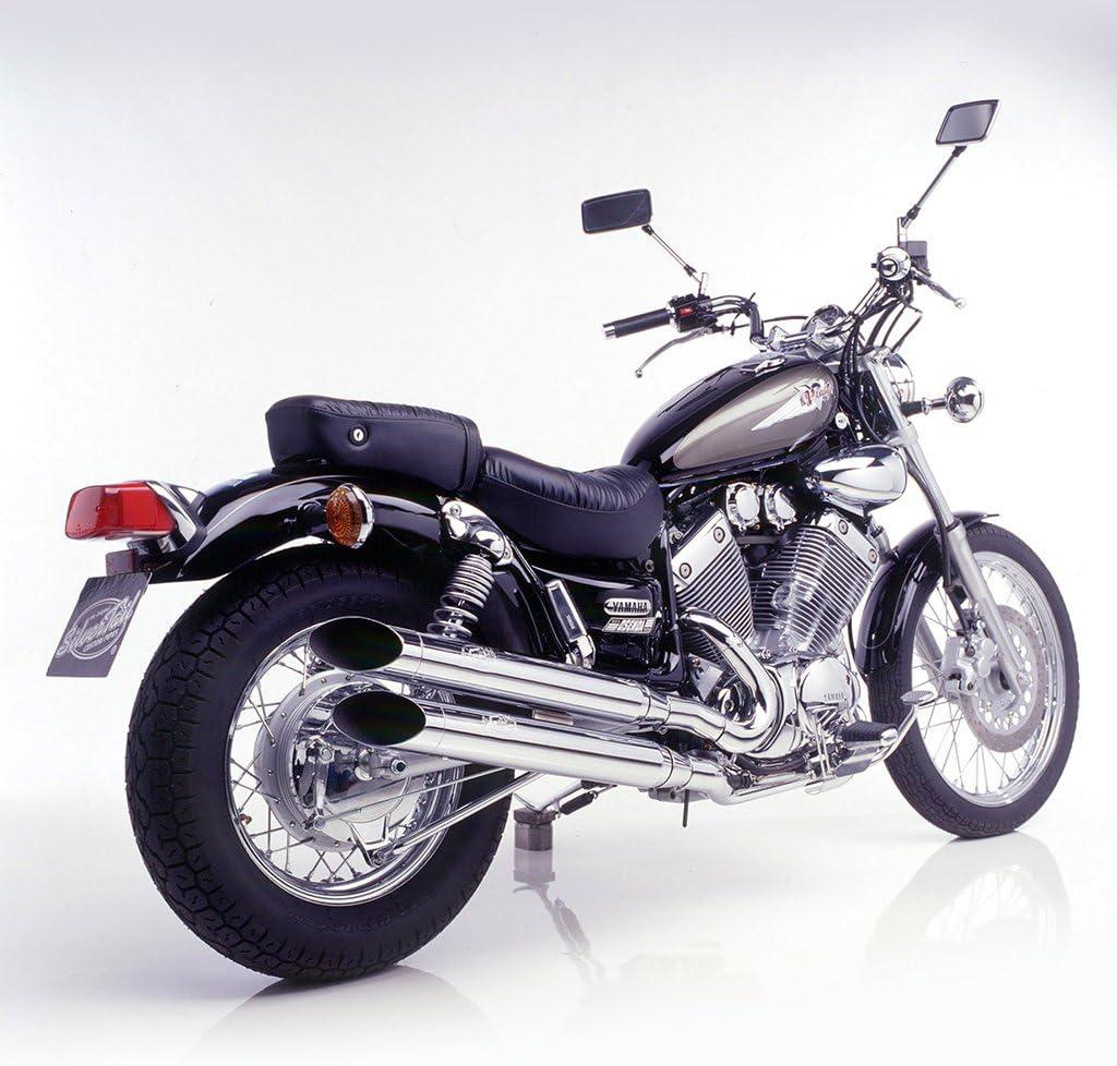 Auspuff Silvertail Komplettanlage Chrom XV535 XV 535 Virago DX 2YL VJ011 H S