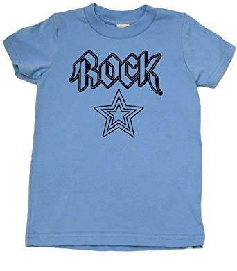 c49f39b4a Amazon.com: Rock Star Rock and Roll Toddler Clothes Boy Or Girl T-Shirts |  Cool Baby Gift: Clothing
