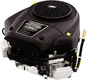 Briggs and Stratton 44S977-0033-G1 25 GHP Vertical Shaft Engine, Black