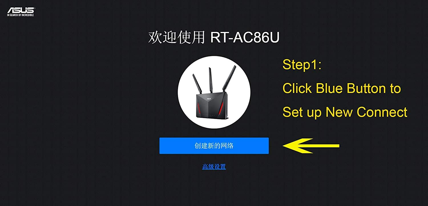 ASUS RT-AC86U AC2900 Router Wi-Fi USB 3 0 WTFast Game Accelerator