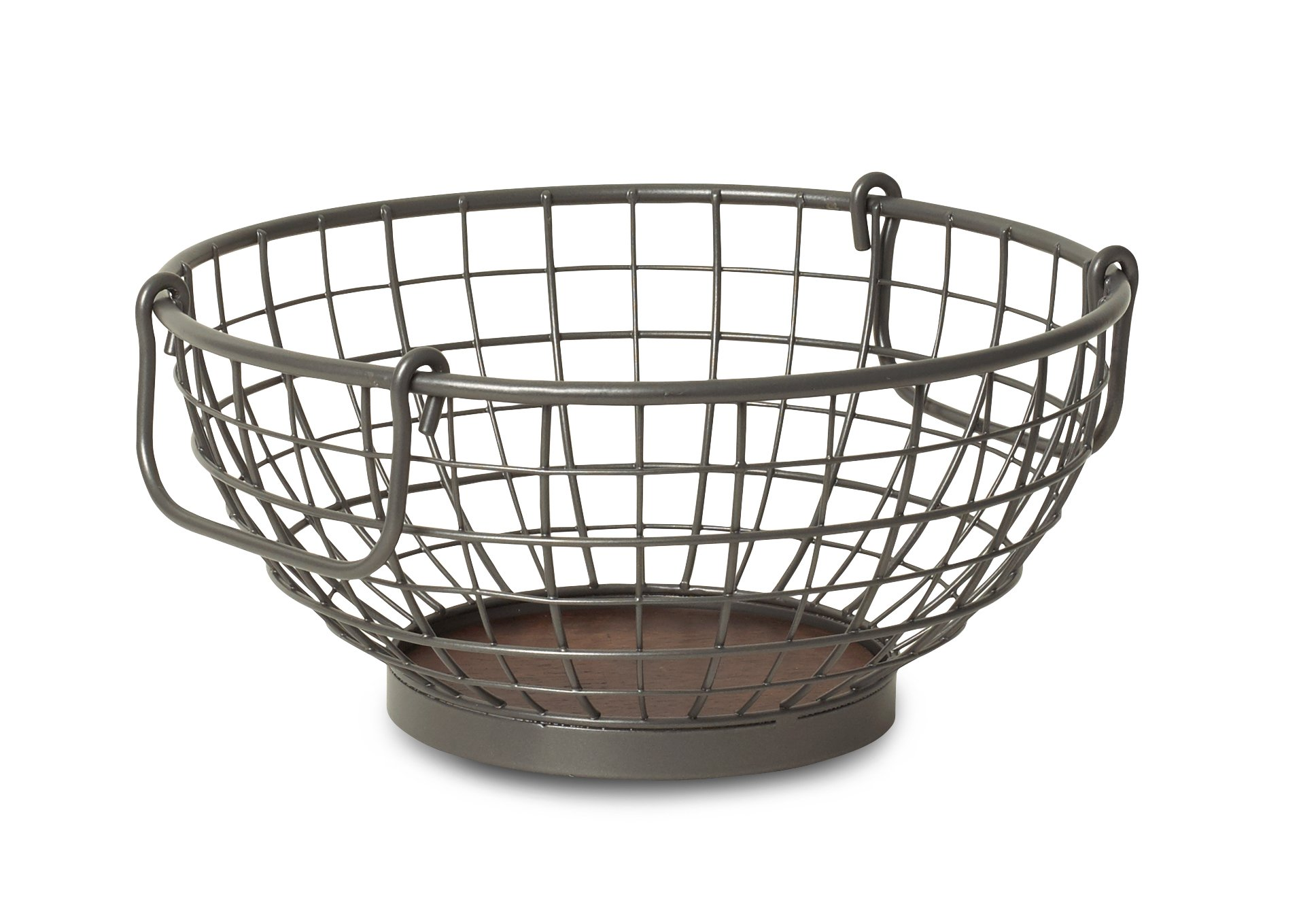 Spectrum Diversified Vintage Fruit Bowl, Industrial Gray by Spectrum Diversified