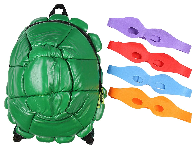 Amazon.com  Bioworld TMNT Shell Backpack Green (Standard)  Clothing 2f01b7b8b2cb9