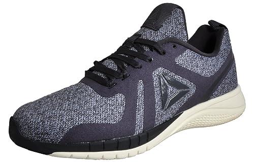 ea2092f526c8f Reebok Print Run 2.0 CR Womens Grey  Amazon.co.uk  Shoes   Bags