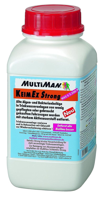 MultiNox® KeimEx Strong entfernt alte Biofilme in Trinkwassertanks und Leitungen