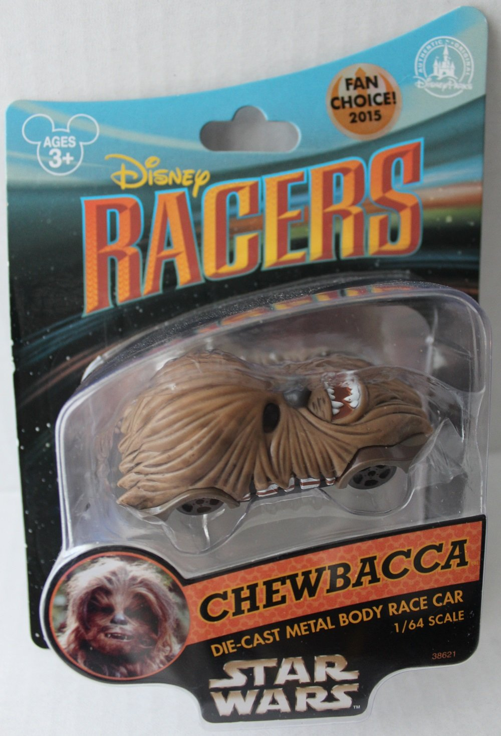 amazon com disney racers star wars chewbacca 1 64 scale die cast