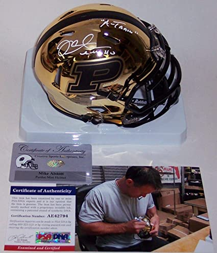 Image Unavailable. Image not available for. Color  Mike Alstott Autographed  ... 593a5adda