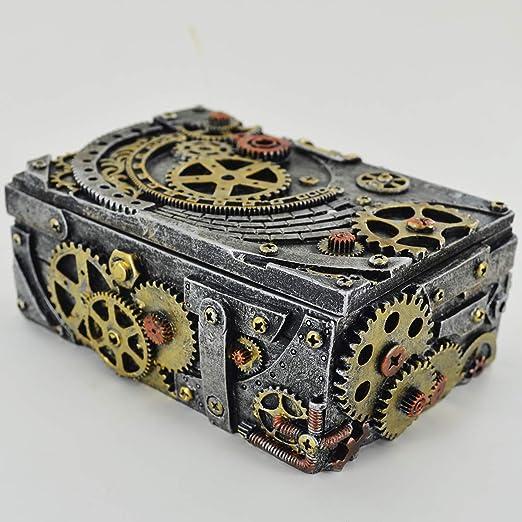 Prezents.com Caja de gemelos mecánicos con diseño de altar para ...