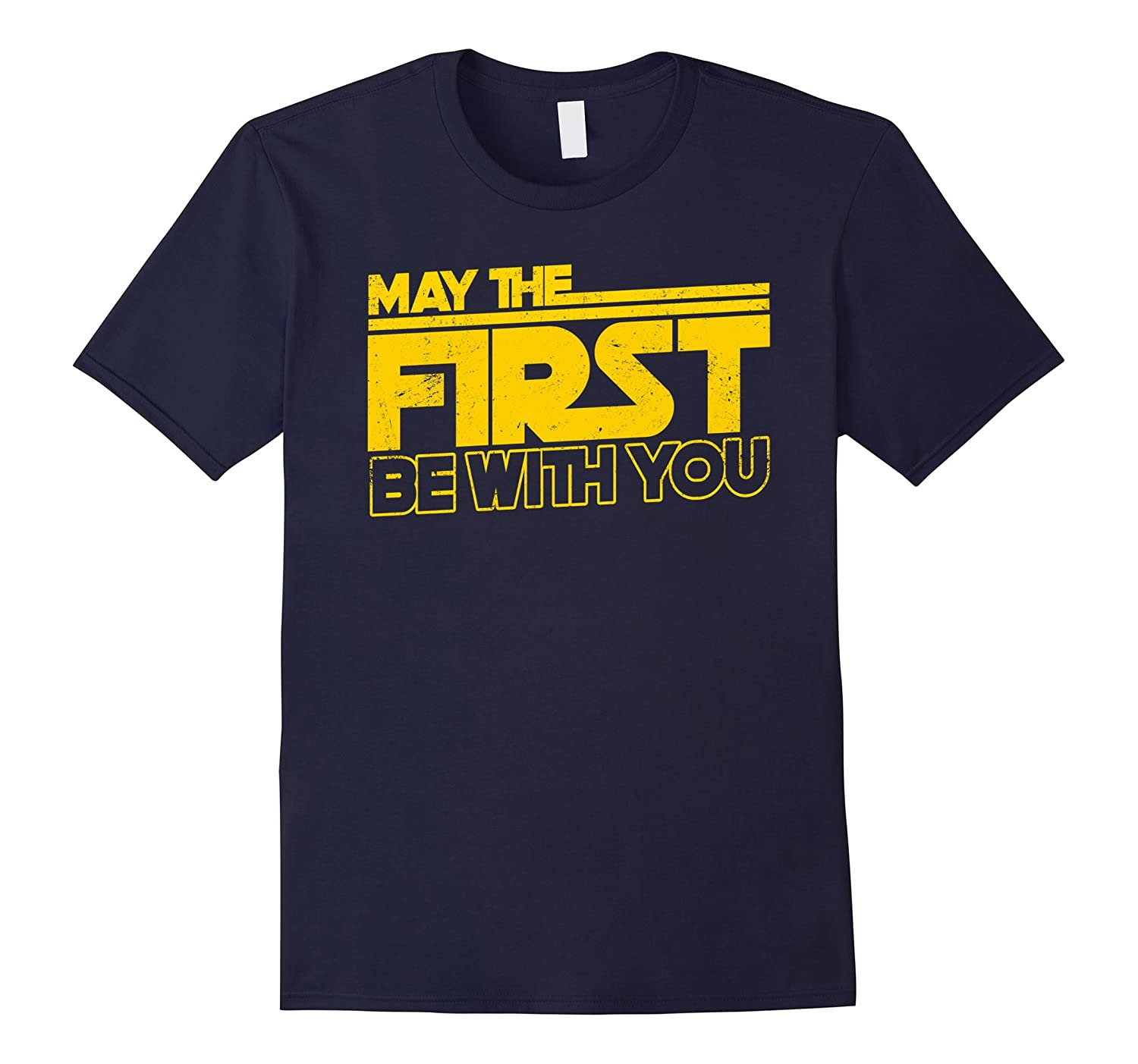 1st Birthday 1 Year Old T-Shirt May The First Be With You-CD