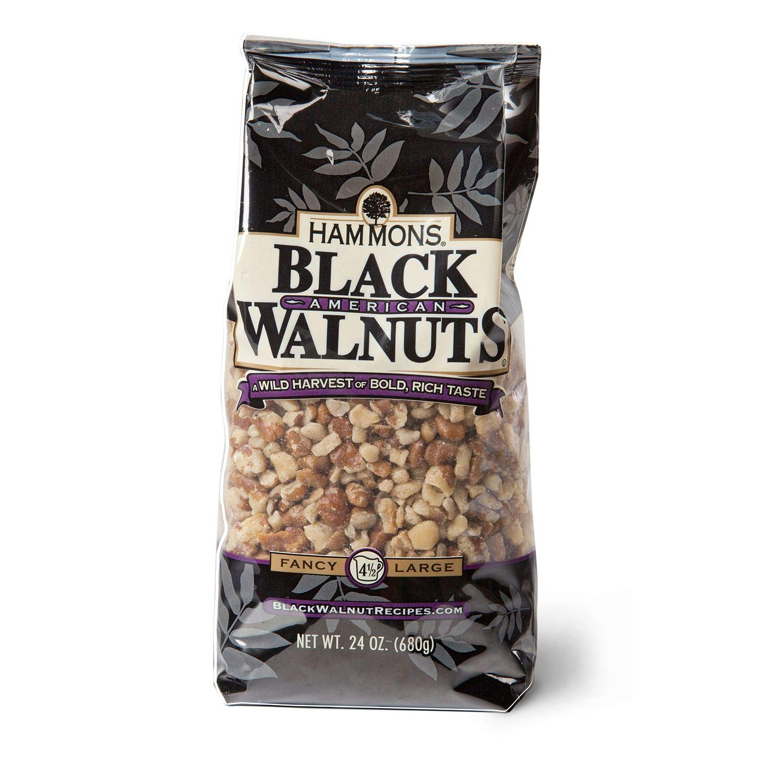 Hammons Black Walnuts - 24 oz. bags. (pack of 4) A1 by Store - 383