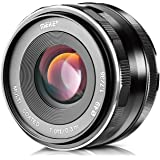 Meike 35mm F1.7 Large Aperture Manual Prime Fixed Lens APS-C for Sony E-Mount Digital Mirrorless Cameras NEX 3 3N 5 NEX…