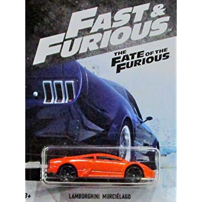 Hot Wheels Fast and Furious 2020 Series Orange Lamborghini Murcielago DIE-CAST, Fast and Furious LAMORGHINI DIE-CAST: Toys & Games