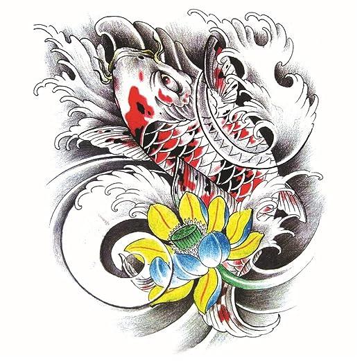 Handaxian 2pcs-Big Picture Bolsa Brazo Tatuaje Etiqueta Creativa ...