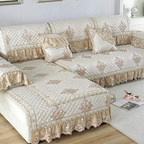 Awesome Jacquard Lace Skirt Sectional Couch Cover Embroidery Camellatalisay Diy Chair Ideas Camellatalisaycom
