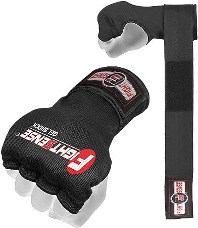 Prime Pro Gel Inner Hand Wraps Gloves Boxing Padded Bandages MMA Muay Thai Kick