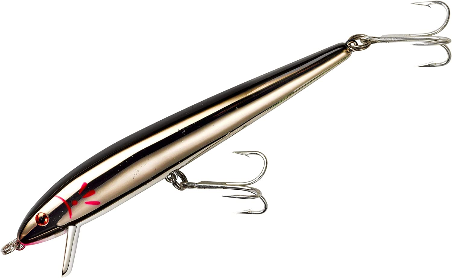 3//8 Ounce 4 1//2 Inch Cotton Cordell Ripplin Red-Fin Crankbait Fishing Lure