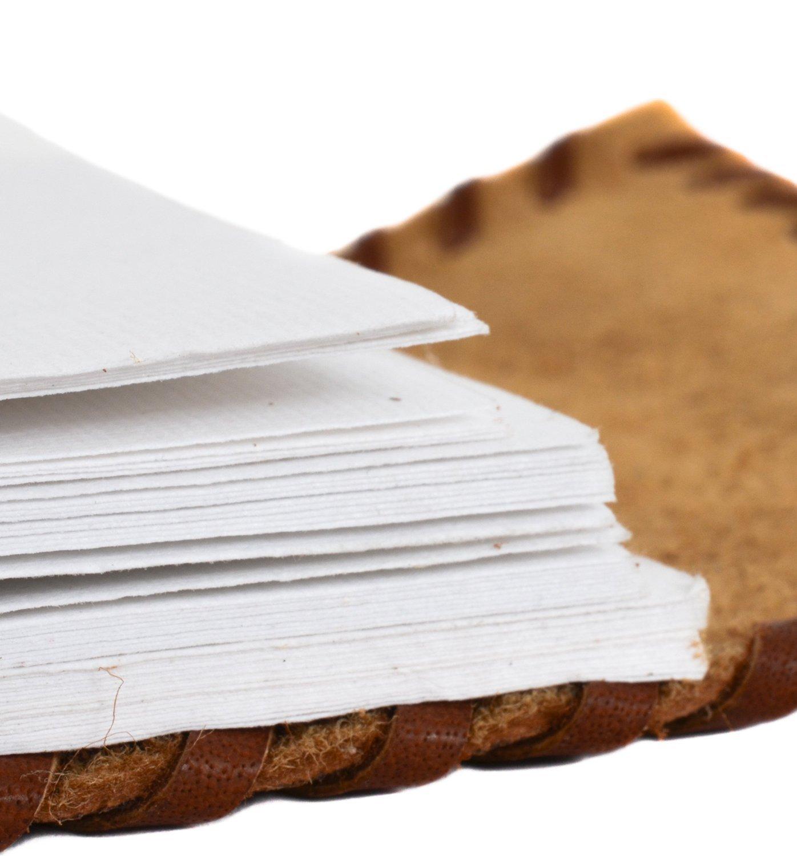 purpledip diario de cuero/diario/cuaderno con papel Tratamiento Natural para regalo de empresa o personal Memoir (lj07)
