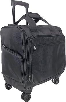 Netpack Roller Wheeled Bag Black