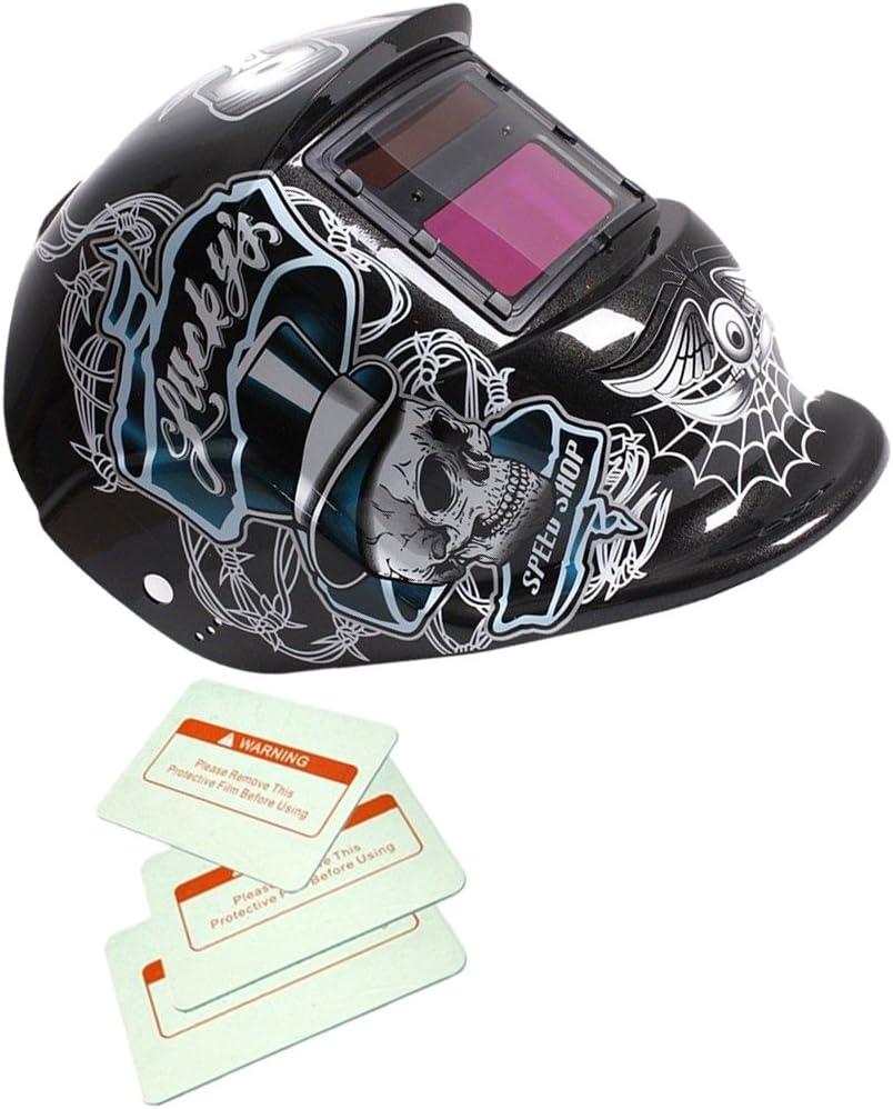 Casque sécurité soudure auto assombrissement variable /& broyage DIN 4//9-13 EW
