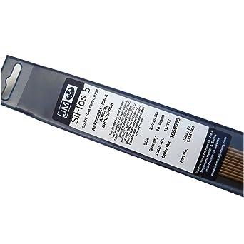 Silfos-5 plata cobre fósforo varillas de soldadura
