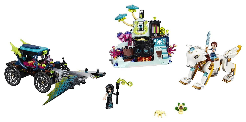 Amazoncom Lego Elves Emily Nocturas Showdown 41195 Building Kit