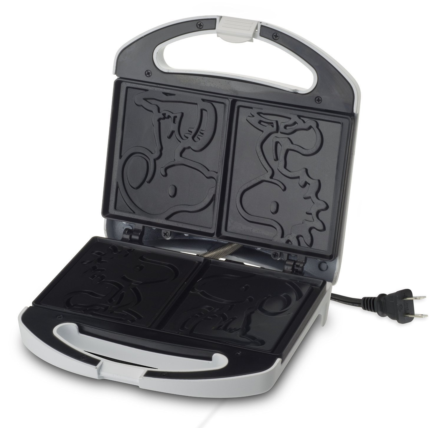 Smart Planet SGCM‐2 Peanuts Snoopy and Woodstock Grilled Cheese Sandwich Maker, White by Smart Planet (Image #3)