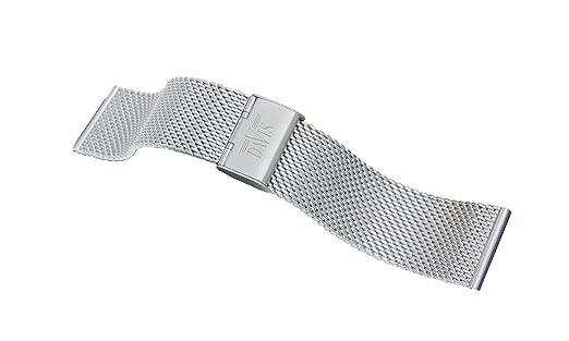 2 opinioni per Davis- 20mm Cinturino Orologio Mesh Maglia Milanese Acciaio Regolabile