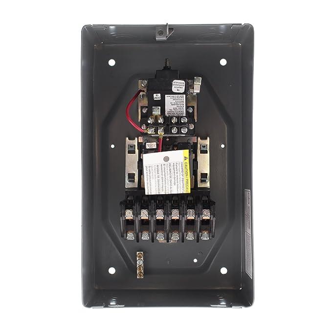 Square D 8903LXG60V04 Lighting Contactor, 277V Coil, NEMA 1, 30A, 600V, 6-Pole - - Amazon.com