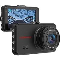 COOAU 1080p Full HD Night Vision in Car Dashboard Camera