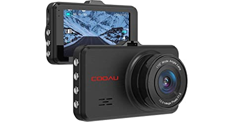 COOAU 1080p Full HD Night Vision in Car Dashboard Camera only $10.00