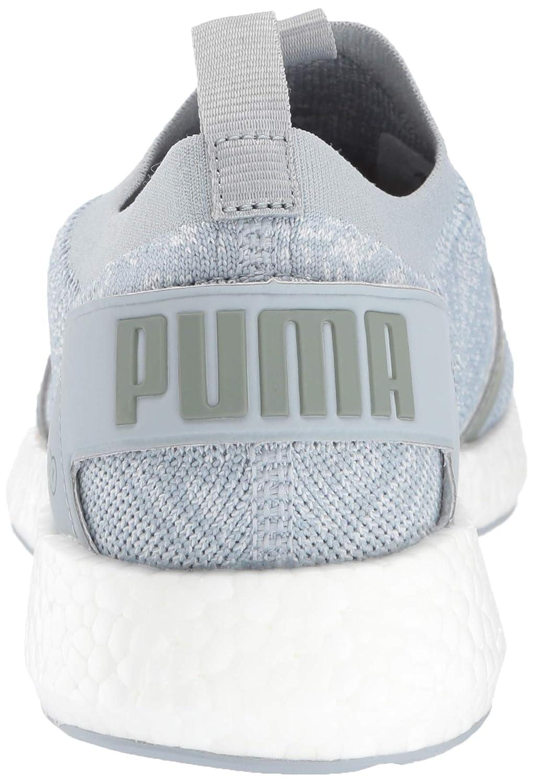 Puma - PUMA - - - Damen NRGY Neko Engineer Strickschuhe, 37.5 EU, Quarry Puma Weiß Laurel Wreath b08c13