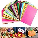 SOLEDI Suave Fieltro Manualidades Tela no Tejido de Lana 41 Colores, Material para Costura y Artesanías de Bricolaje (15*15cm): Amazon.es: Juguetes y juegos