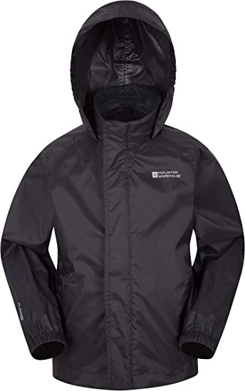 Boys /& Girls Mountain Warehouse Pakka Kids Waterproof Rain Jacket