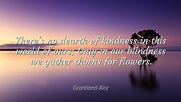 Amazon Com Grantland Rice Famous Quotes Laminated Poster Print