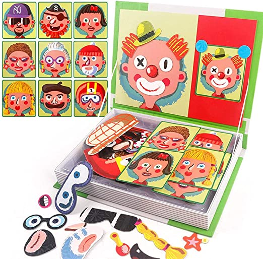 Toys: A Magnetic Puzzle Book