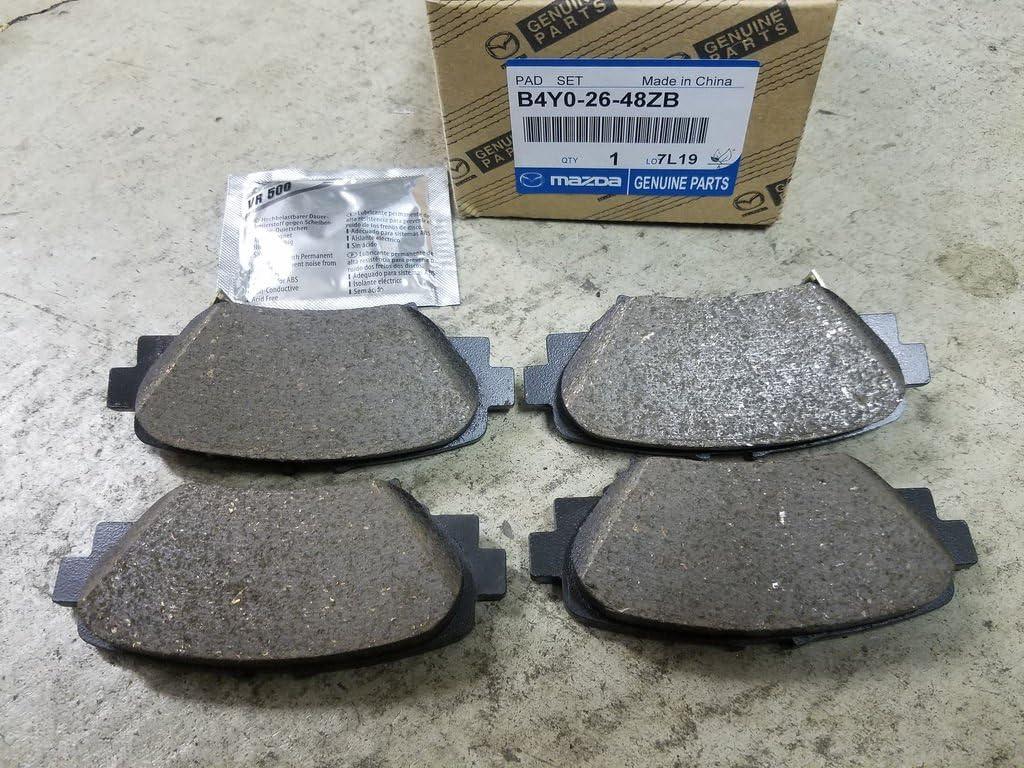 Genuine Mazda OEM Rear Break Pad Set B4Y0-26-48ZB