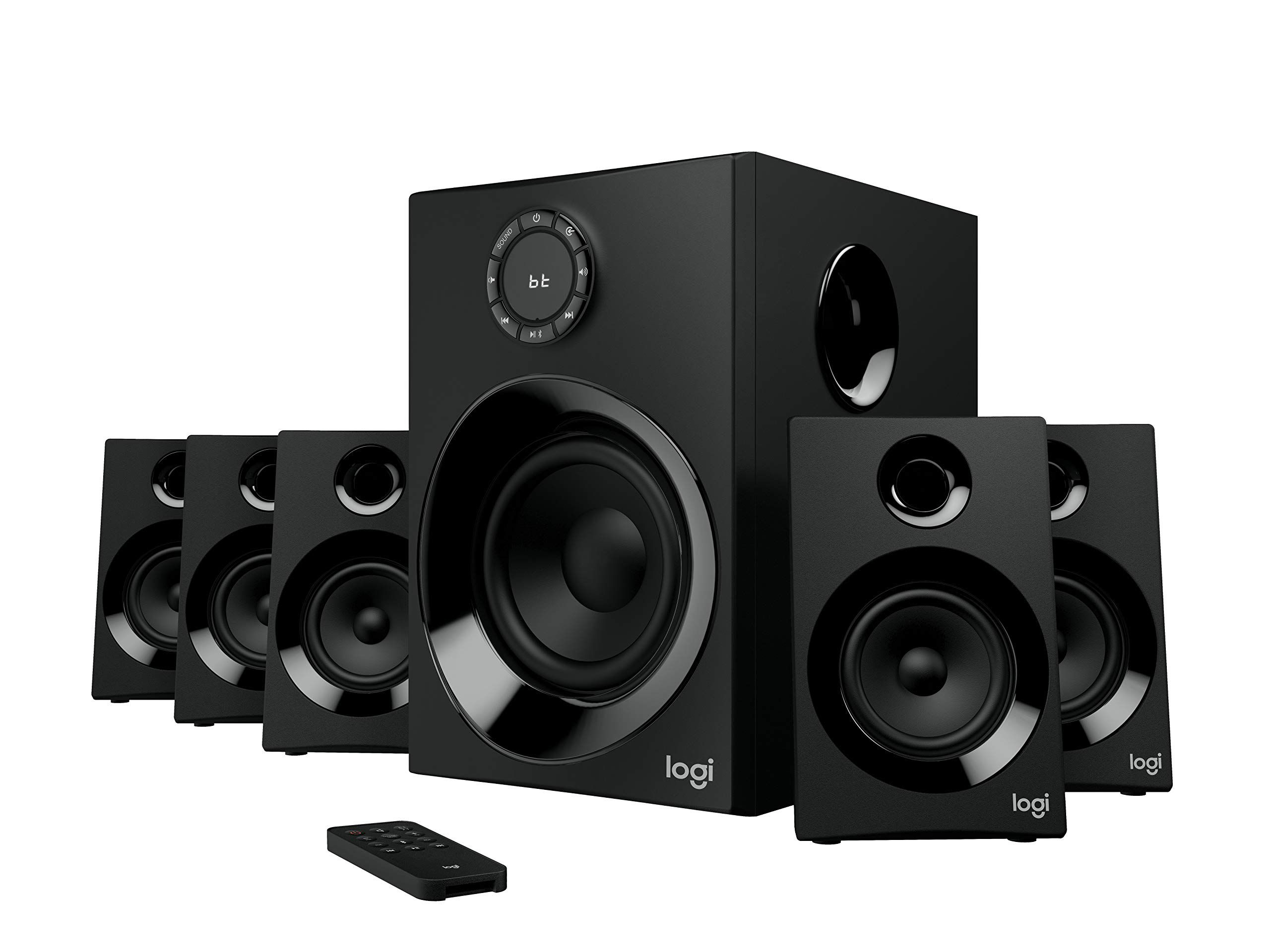 Z606 5.1 Surround Sound Speaker System with Bluetooth by Logitech