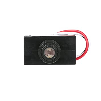 Woods 59408wd outdoor hard wired post eye light control with on westec photocell wiring diagram westec photocell wiring diagram