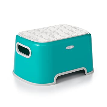 Incredible Oxo Tot Step Stool Teal Gmtry Best Dining Table And Chair Ideas Images Gmtryco