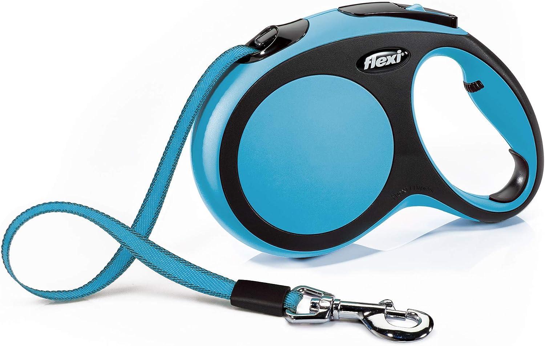 Croci C2055819 Llevar Perro Flexi Nuevo Confort Cinta L 8 M Azul