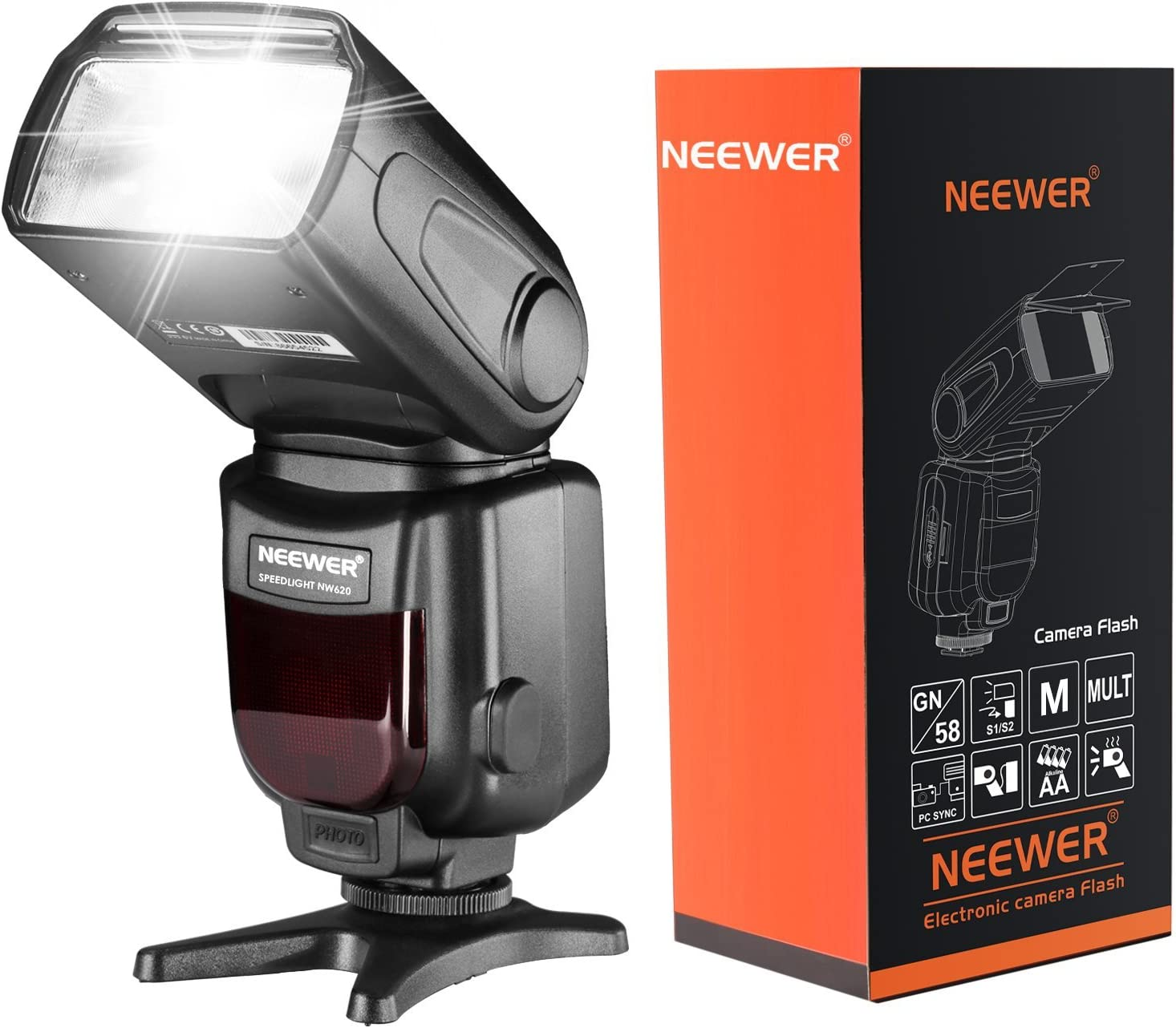 Neewer Nw620 Speedlite Blitzgerät Für Canon Nikon Kamera