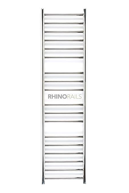 Rhinorails 1300 mm x 360 mm Ergo (plana de) 360 en acero inoxidable toallero