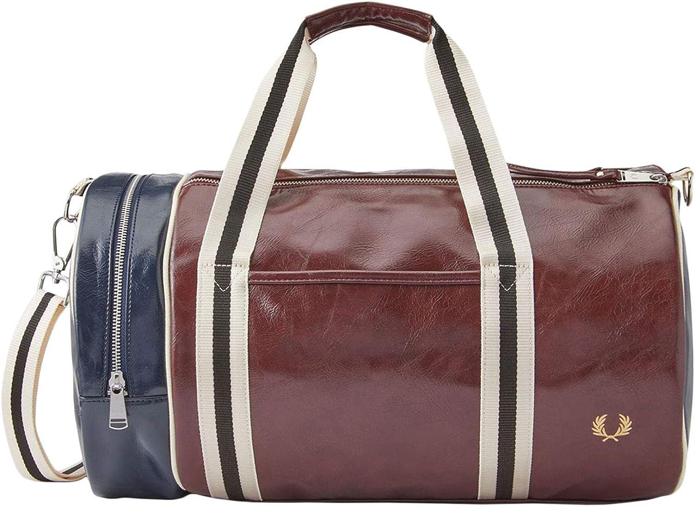 Fred Perry Mens Colour Block Classic Duffel Bag 40Cm