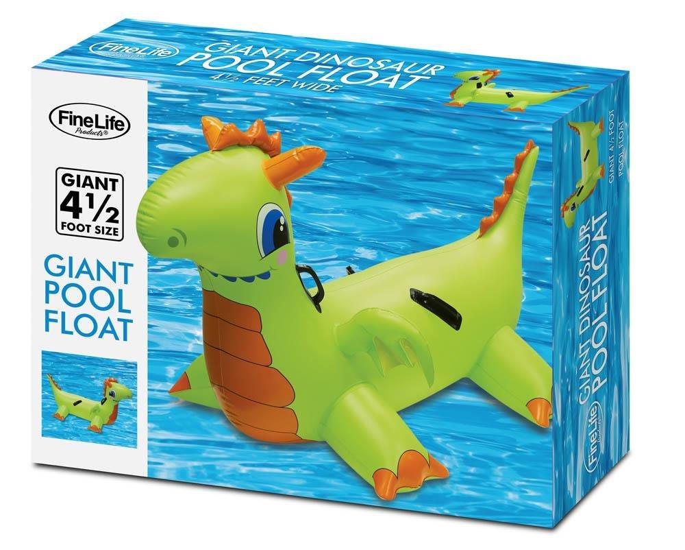 Amazon.com: Gigante Dinosaurio hinchable piscina flotador ...